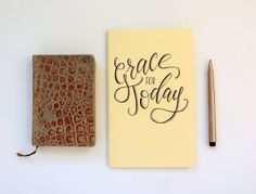 Prayer journal - Grace for Today - Christian journal, Christian gift