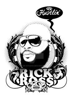 Rick Ross by DK-Studio.deviantart.com on @DeviantArt