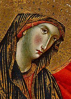 Le Couronnement de la Vierge, 1324, Paolo Veneziano