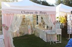 So classy and beautiful! Chateau De Fleurs: A Few Fun And Fabulous booth Presentations From the September 2011 TVM