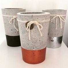 www.nothingbutvintage.com.au Urban Decor concrete planters, Tealights, stools & bowls available now.