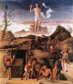 Charles Fonseca: Giovanni Bellini, 1475-1479 - Ressurreição de Cris...