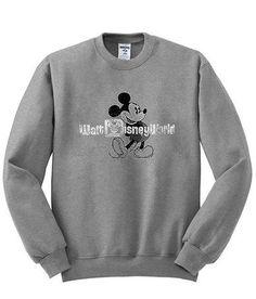 mickey mouse walt disney sweatshirt