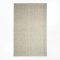 Jute Boucle Rug - Platinum | West Elm - 8'x10' - $279 on sale - idea for the living room rug?