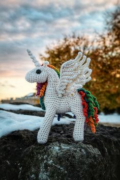 Ravelry: Project Gallery for Pony (Pegasus Unicorn Alicorn) pattern by Crafty Intentions Crochet Dragon, Crochet Unicorn, Unicorn Pattern, Pegasus, Amigurumi Patterns, Crochet Patterns, Pdf Patterns, Knitting Patterns, Dragon Pattern