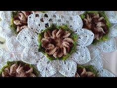 Toalha de crochê Para ser Aplicado em outros trabalhos. Com Cristina Co...