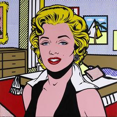 Marilyn Monroe by Roy Lichtenstein