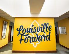 """Check out this @Behance project: """"Louisville Forward Murals"""" https://www.behance.net/gallery/24312753/Louisville-Forward-Murals"""