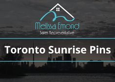 Just the cover photo for my Toronto Sunrise pins.