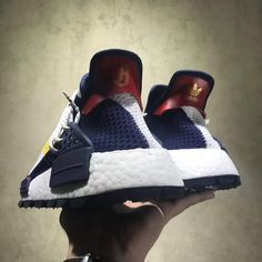 official photos b9fef 63962 Billionaire Boys Club x Adidas Originals Hu NMD were exposed in February,  features Primeknit uppers in white, yellow and red, and BBC astronauts on  the side ...