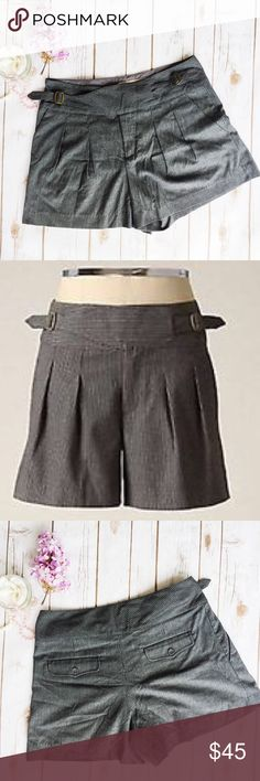 ❗️LAST CHANCE❗️Anthropologie Idra Buckle Shorts ★ EUC ★ Measurements available upon request ★ Reasonable Offers Accepted  ★ No Trades ★ No Modeling (ANNB)11 Anthropologie Shorts