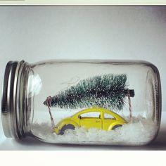Winter Wonderland jar. seriously? adorable!
