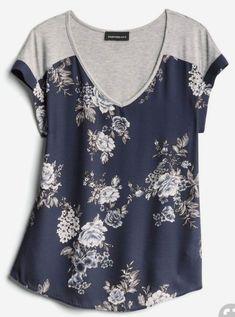 Source by katvanadams clothes ideas cute outfits Tops Vintage, Vintage Cotton, Casual Outfits, Cute Outfits, Fashion Outfits, Casual Shirt, Umgestaltete Shirts, Cotton Shirts, Modelos Plus Size