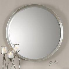 Uttermost Serenza Round Wall Mirror UM - 14547 -  - SHINE MIRRORS AUSTRALIA - 1