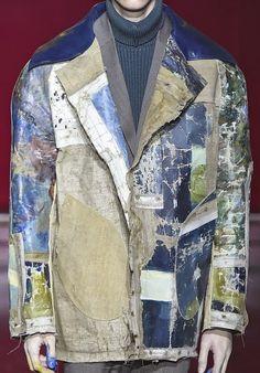 patternprints journal it Textile Texture, Textile Prints, Textile Design, Textiles, Fashion Details, Men Fashion, Fashion Design, Bohemian Style Men, Art Clothing