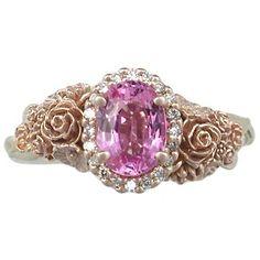 Flower Bouquet Engagement Ring