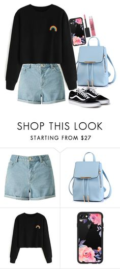 """""""Untitled #1641"""" by mihai-theodora ❤ liked on Polyvore featuring Miss Selfridge, Casetify and Maybelline"""