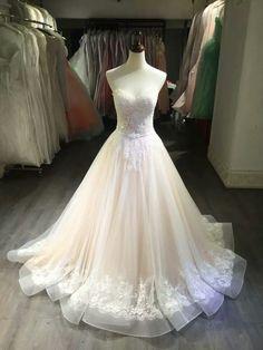 Wedding Dress,Wedding Gown,Bridal Gown,Bride Dresses, Long Wedding Dresses,Nude