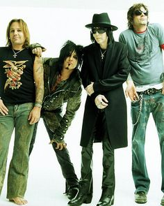 Motley Crüe. (Rock and Roll - #ICONS2Me)