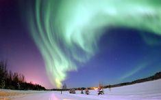 夜空を彩る神秘「オーロラ」‐アメリカの絶景・名所‐