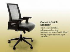 CADEIRA QUICK™ STAPLES®
