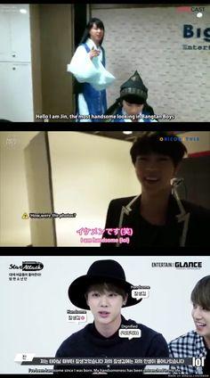 Jin's self confidence level = > 999999999 | allkpop Meme Center