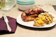 Guilty Kitchen.com.  A quick and easy recipe for Cornish game hens. A great alternative meat for smaller Thanksgivings or for any occasion.