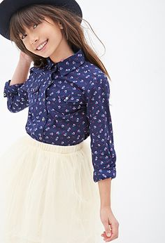 Calico Western Shirt (Kids) | FOREVER21 girls | #f21kids