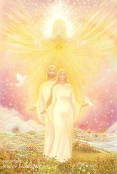 © Brigitte-Devaia-Jost || Love Blessings Mary Magdalene and Jeshua