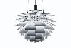 PH Artichoke by Poul Henningsen    http://wefurn.com/lamps/ph-artischoke-paul-henningsens-replica