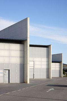 Naves Industriales #fachadasarquitectura