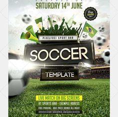 football flyer template | Design | Pinterest | Flyer template and ...