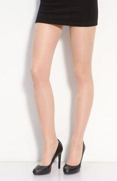 Women's Oroblu Repos 70 Control Top Pantyhose, Size X-Large - Beige Pantyhose Fashion, Fashion Tights, Fashion Heels, Pantyhose Lovers, In Pantyhose, Flatten Tummy, Clubbing Outfits, Nylons Heels, Short Mini Dress