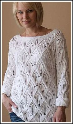 Points, Knitting, Lace, Tops, Women, Fashion, Stitching, Tejidos, Livres