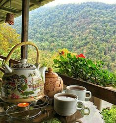 Life is like a cup of tea… To be filled to the brim, and enjoyed with friends! Special thanks to Vahid for sending us the photo! Coffee Zone, Coffee Cups, Tea Cups, Coffee Break, Morning Coffee, Cafe No Bule, Life Is Beautiful, Beautiful Places, Tea And Books