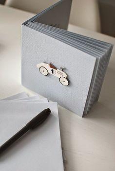 Kuistin kautta: Synttärikutsut 1-vuotiaalle pojalle Vilac Car Card