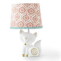 Girl Woodland Nursery Levtex Baby Fiona Fox Coral And
