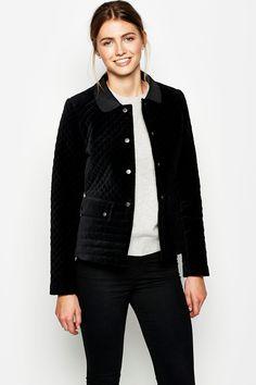 The Heathcrest Velvet Jacket | Jack Wills