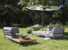 Houe - le canapé outdoor Level Couch.  Célébrons le retour des beaux jours avec notre sélection outdoor | Modern Living Blog