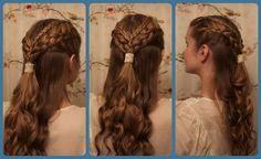 "Daenerys Targaryen ""Two Swords"" Inspired Braids."