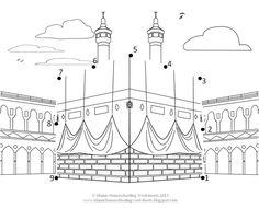 Islamic Coloring Pages Pdf Muslim Book Activities Art Mindful History — ObispaDodeJujuy Al Isra Wal Miraj, Photo Ramadan, Photos Islamiques, Colouring Pages, Coloring Books, Decoraciones Ramadan, Muslim Book, Ramadan Crafts, Ramadan Tips