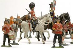Toys of the 19th century | Selection of toy soldiers: 19th century