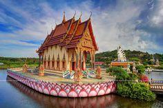 Floating Temple #1 / Wat Plai Laem / Koh Samui (Island) / Thailand | Flickr - Photo Sharing!