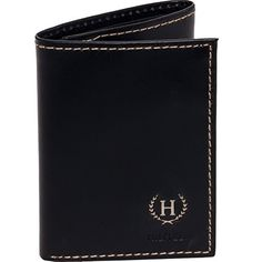 Tommy Hilfiger Men's Hove Trifold Wallet (Black) #deals