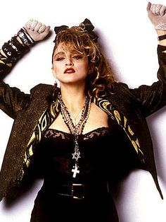 madonna 80's posters | 19 Music-Based Cosplay Ideas for Freddie's Birthday | GeekMom | Wired ...