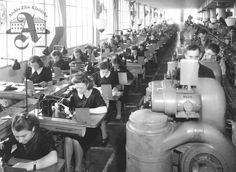 Production in a shoemaker's shop, 1939