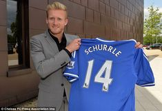 Chelsea have completed the signing of German international Andre Schurrle from Bayer Leverkusen for 18million p.