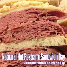 National Hot Pastrami Sandwich Day - January 14, 2018