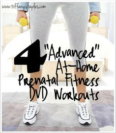 Pregnancy DVDs that Will Make You Sweat!