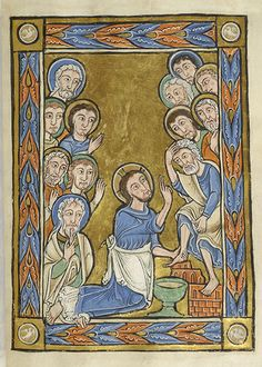 Vita Christi (Life of Christ), MS M.44 fol. 7r - Images from Medieval and Renaissance Manuscripts - The Morgan Library & Museum